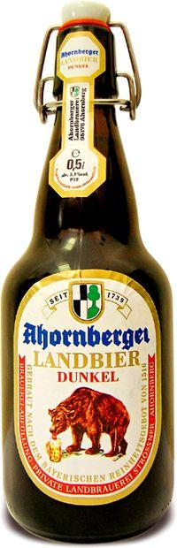 топ пива Ahornberger Landbier Dunkel обзор / оценка / отзывы