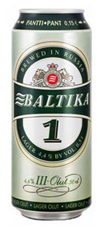 топ пива Балтика 1 Легкое обзор / оценка / отзывы