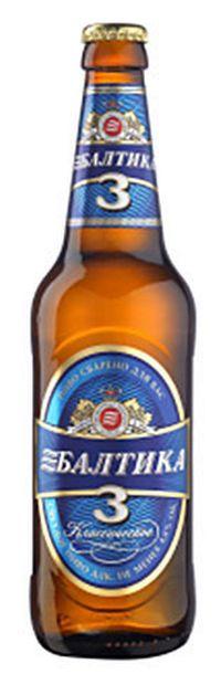 топ пива Балтика 3 Классическое обзор / оценка / отзывы