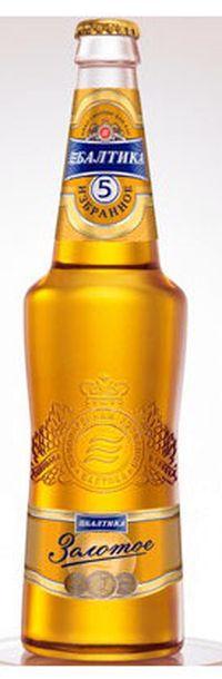 топ пива Балтика 5 Золотое обзор / оценка / отзывы