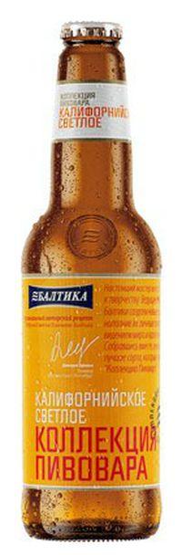 топ пива Балтика Калифорнийское светлое обзор / оценка / отзывы